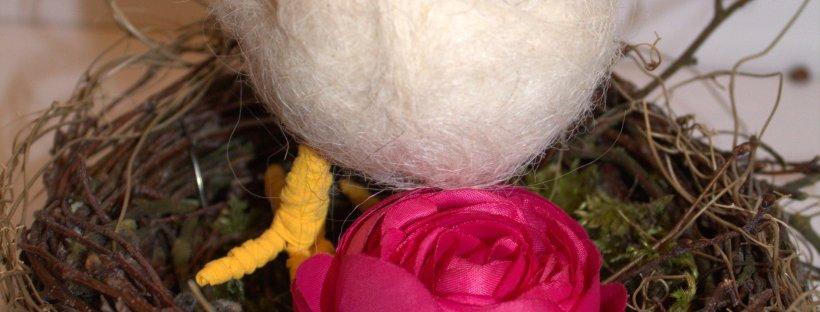 DIY Osternest aus Naturmaterialien